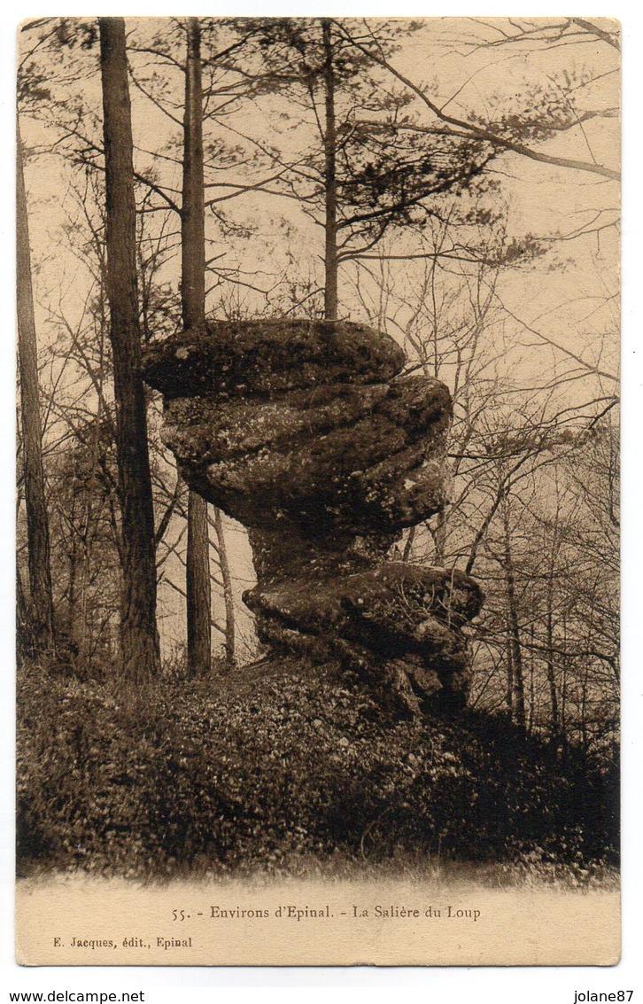 CPA  88   EPINAL        LA SALIERE DU LOUP - Dolmen & Menhirs