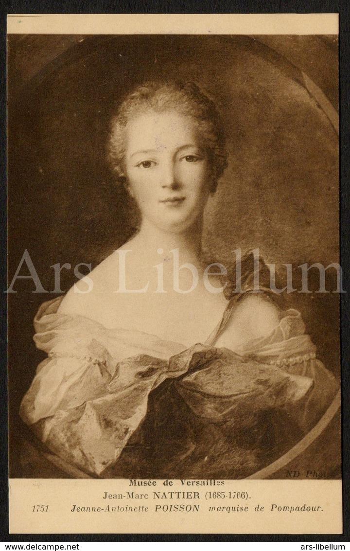 Postcard / CP / Postkaart / Artist / Jean-Marc Nattier / Madame De Pompadour / Jeanne-Antoinette Poisson / Unused - Femmes Célèbres