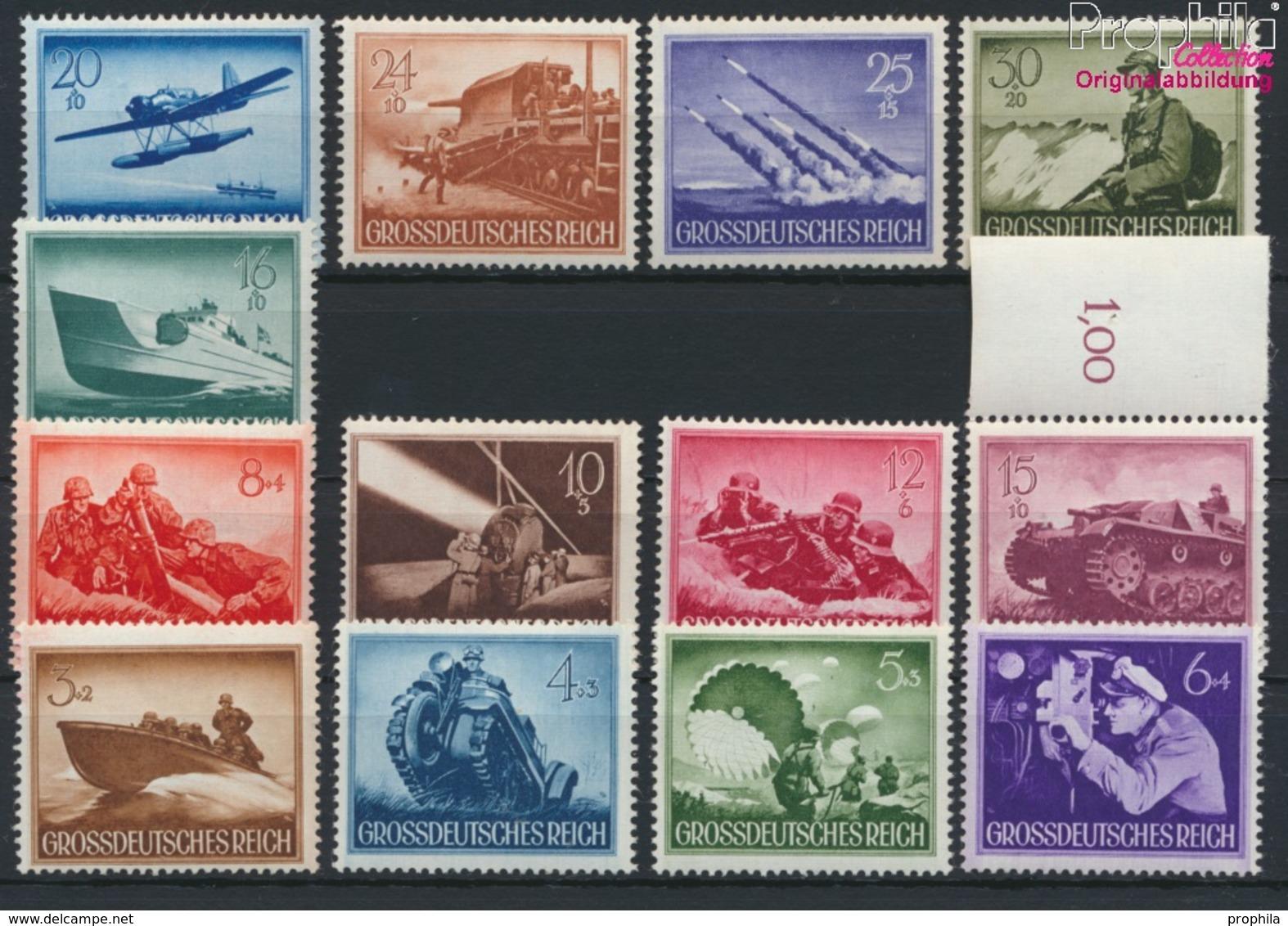 Deutsches Reich 873-885 (kompl.Ausg.) Postfrisch 1944 Heldengedenktag (9210495 - Deutschland