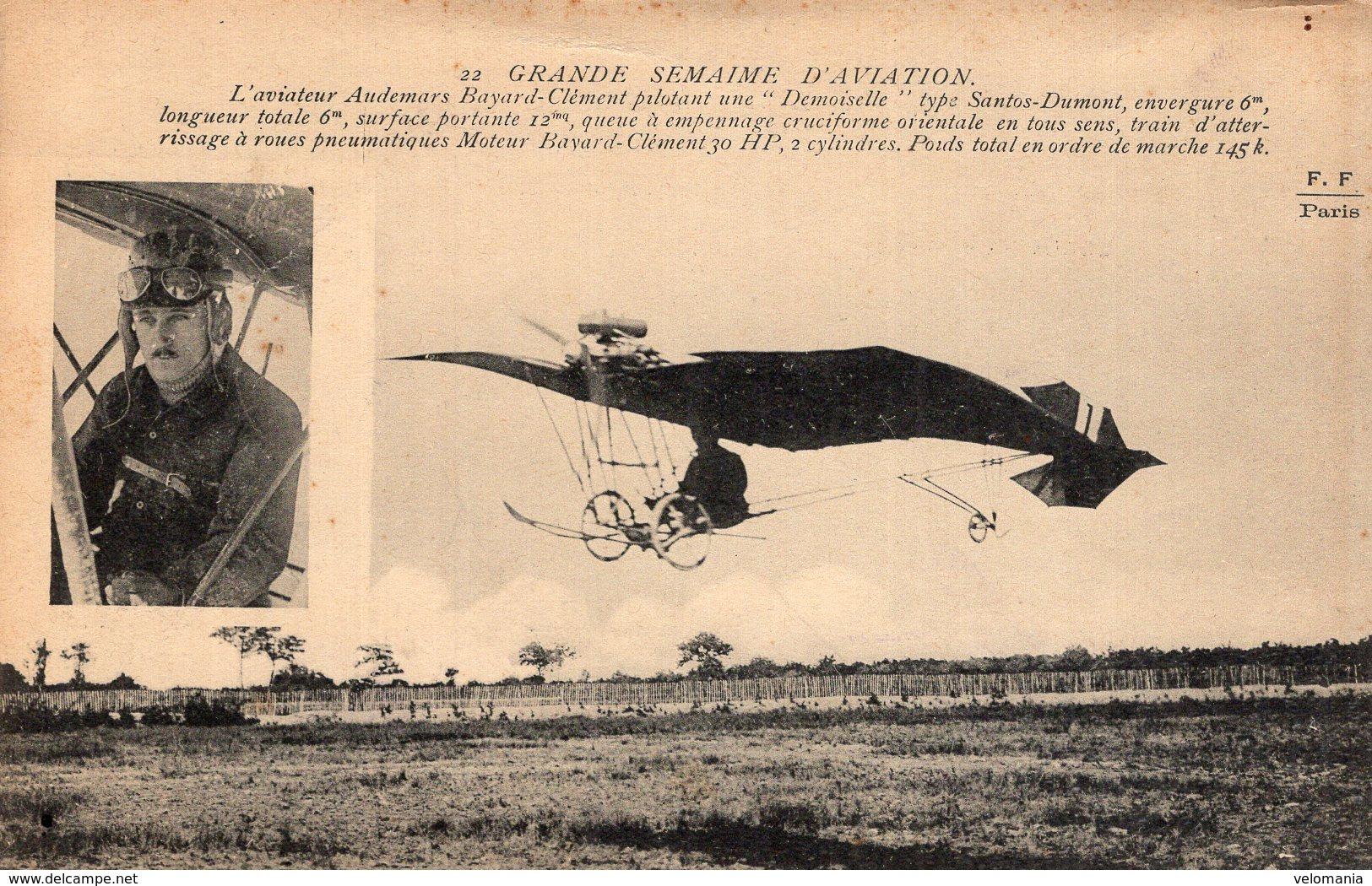 2235 Grande Semaine D'Aviation - L'aviateur Audemars - Luchtvaart
