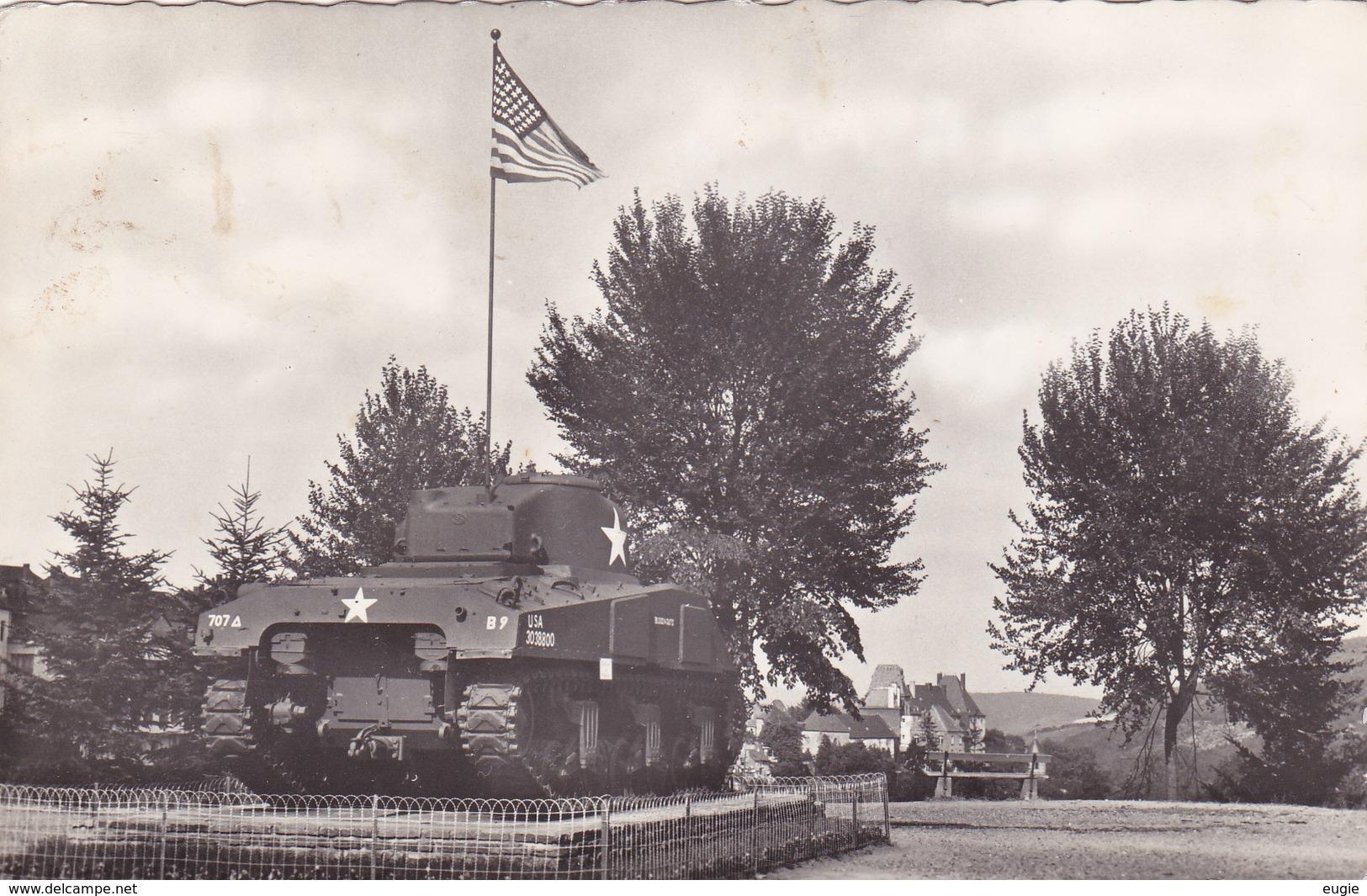 432/ Wiltz, Luxembourg Gr. D, Tank, Monument? - Wiltz