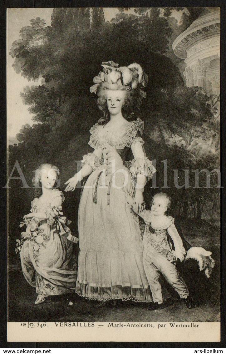 Postcard / CP / Postkaart / ROYALTY / France / Marie-Antoinette D'Autriche / Reine De France / Par Wertmuller - Femmes Célèbres