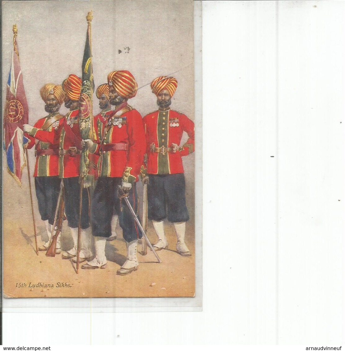 LUDHIANA SIKHS - Personnages