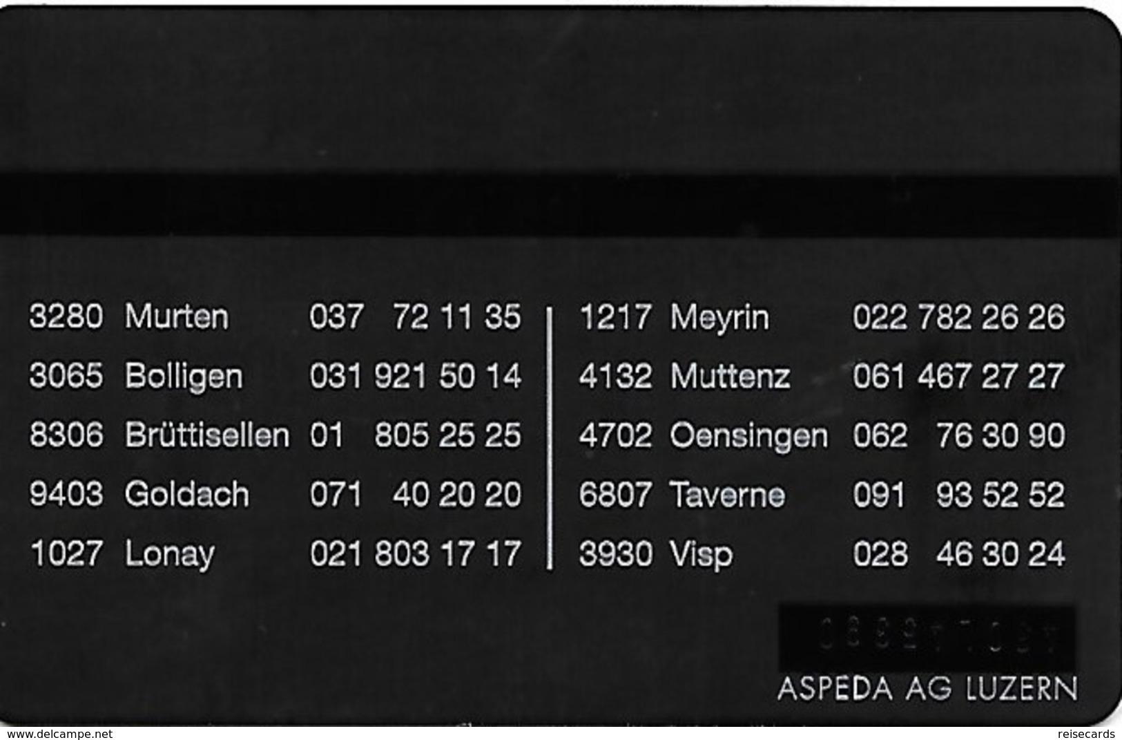 PTT P: KP-94/520B 430L Selecta - Schweiz