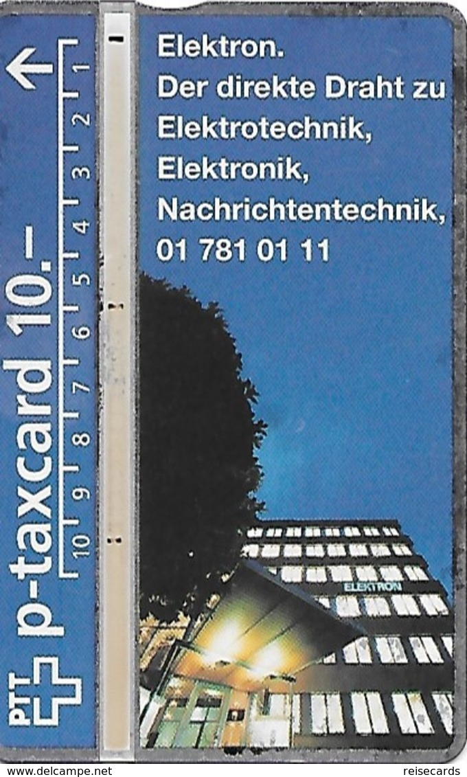 PTT P: KP-94/445 409L Elektron - Schweiz