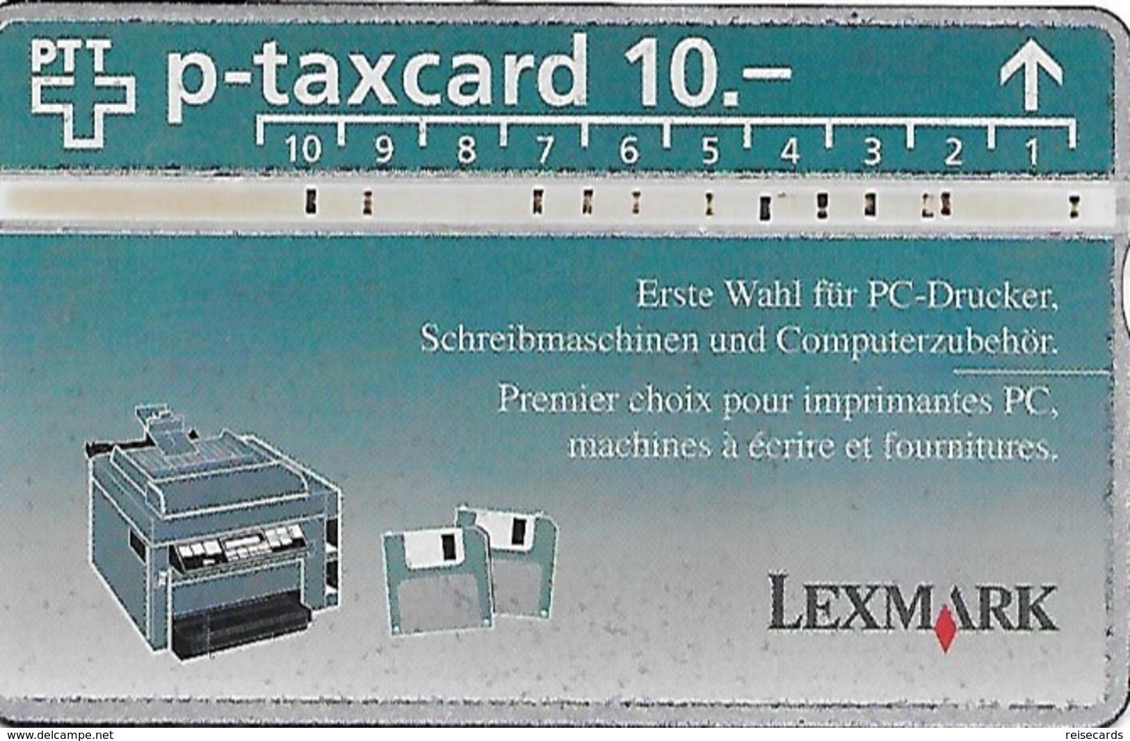 PTT P: KP-94/161 404L Lexmark - Schweiz