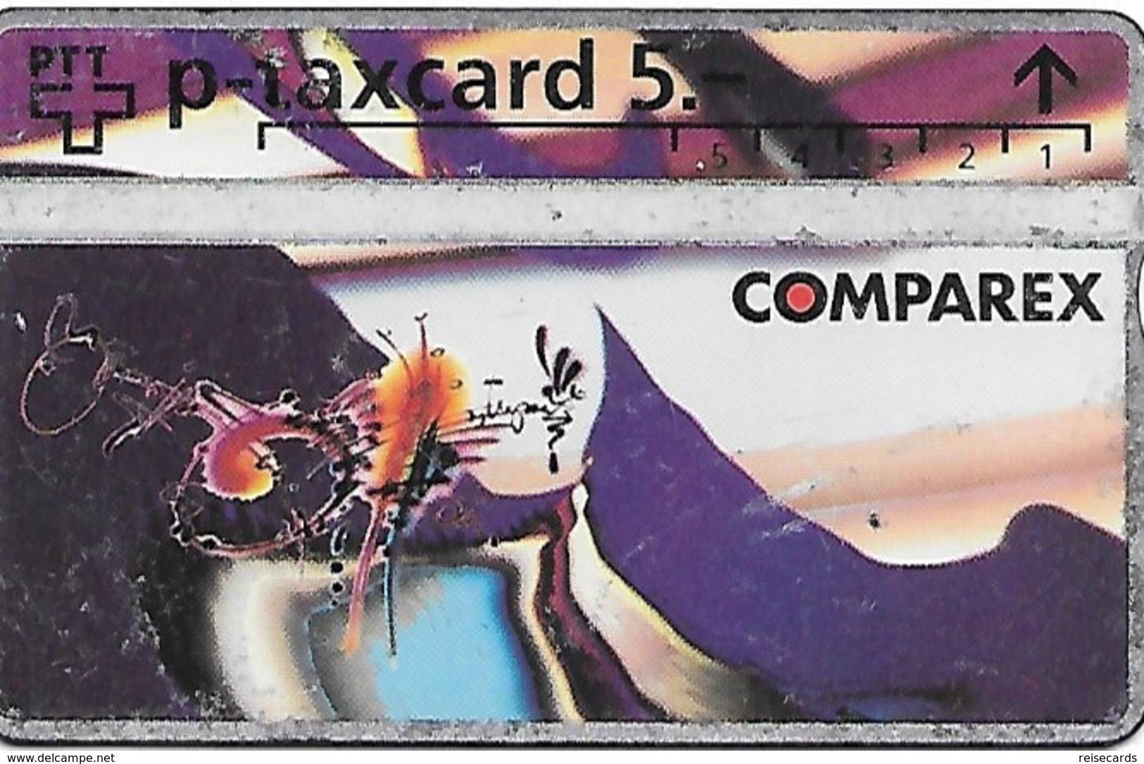PTT P: KP-93/60 307L Comparex - Schweiz