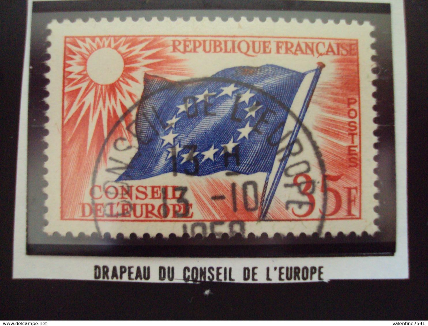 """à Partir De 1950 - Timbre Oblitéré N°20    """"  SERVICE  35 F    """"  0.30 - Oblitérés"""