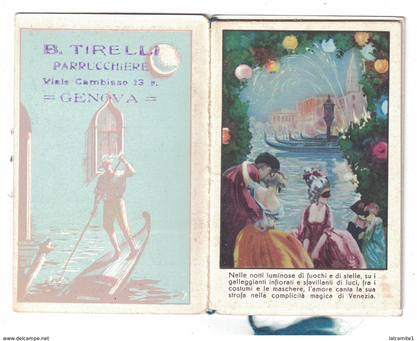 CALENDARIETTO  NOTTI VENEZIANE  1940 - Calendari