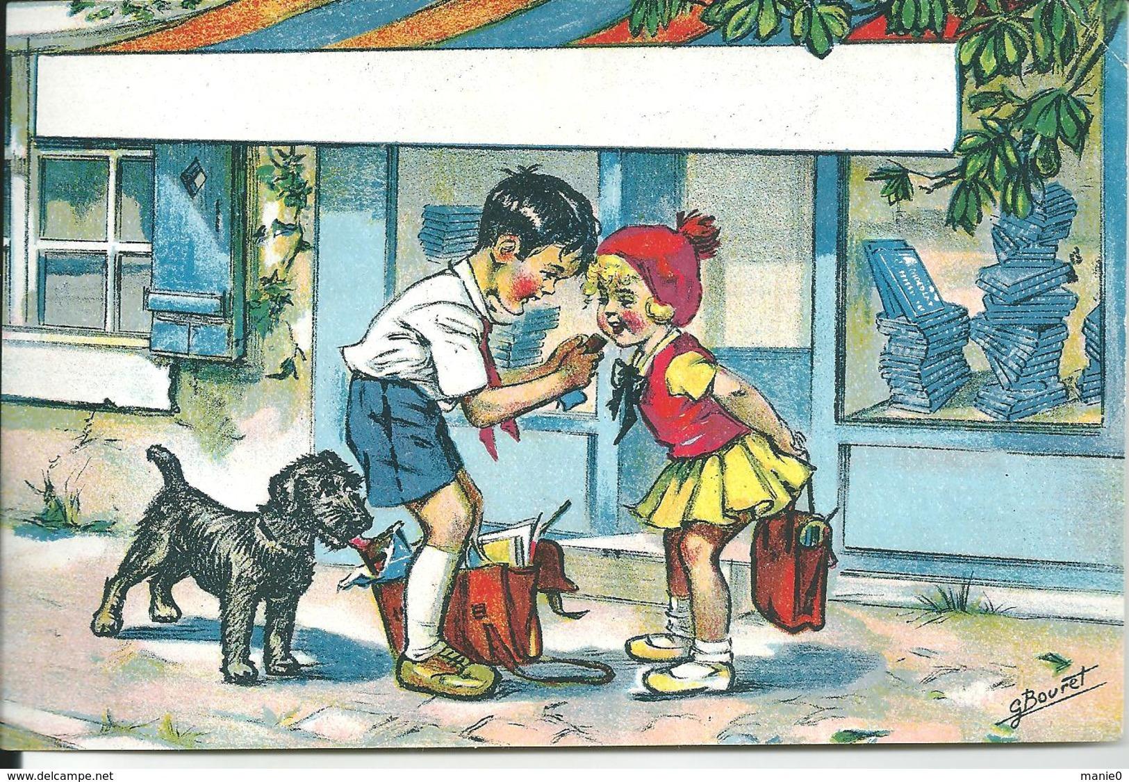 IMAGE DE G.ERMAINE BOURET- CERTAINEMENT EN PREVISION D'UNE PUB POUR DU CHOCOLAT - Bouret, Germaine