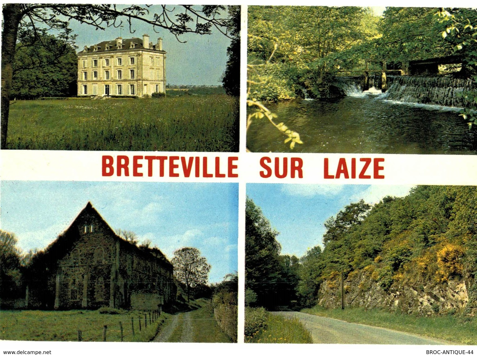 CPM* N°2539 - LOT DE 2 CARTES DE BRETTEVILLE-SUR-LAIZE - France