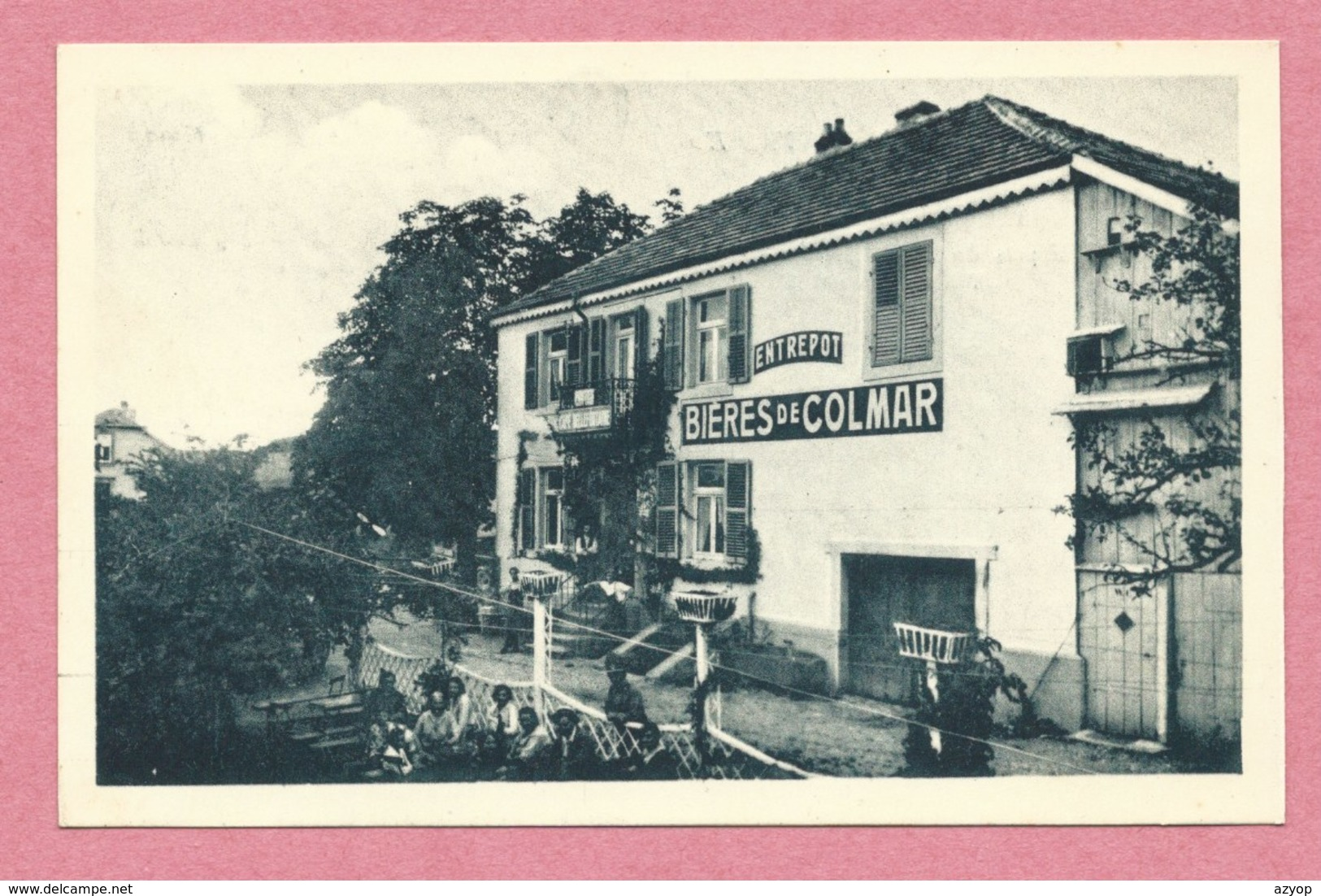 57 - HOFF Près SARREBOURG - Café Belle Fontaine Et Son Zoo - Prop. J. PIERRE - France