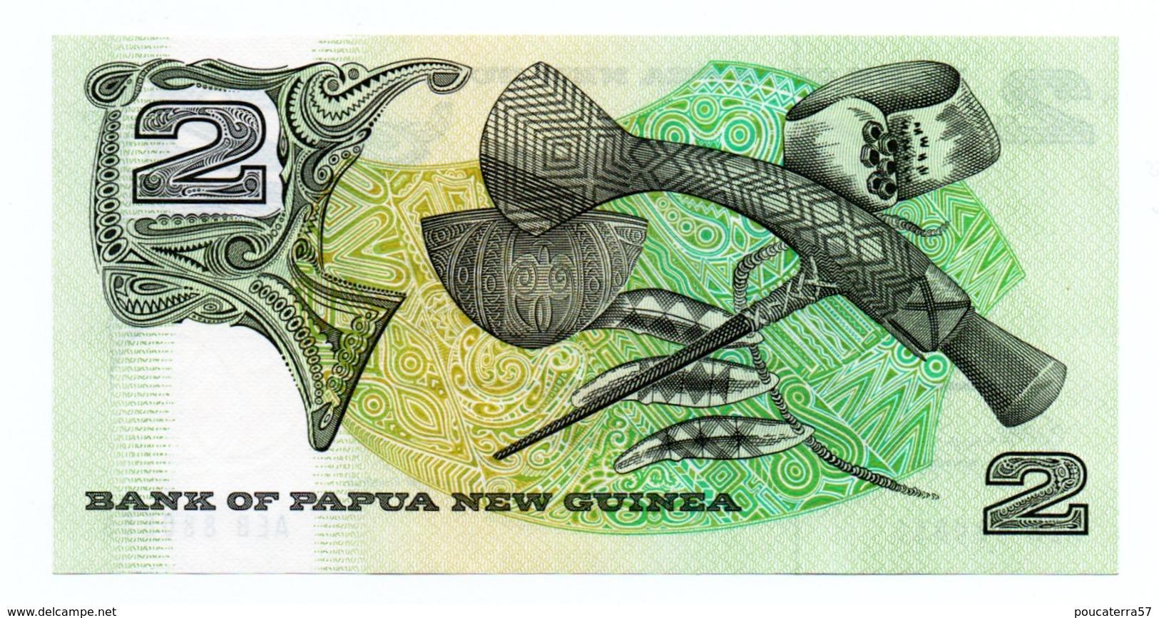 PAPUA NEW GUINEA=N/D   2  KINA    P-5    UNC - Papua New Guinea