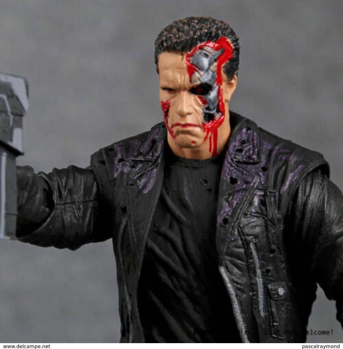 Le Modèle Terminator T-800 Arnold Schwarzenegger PVC Action Figure - Figurines