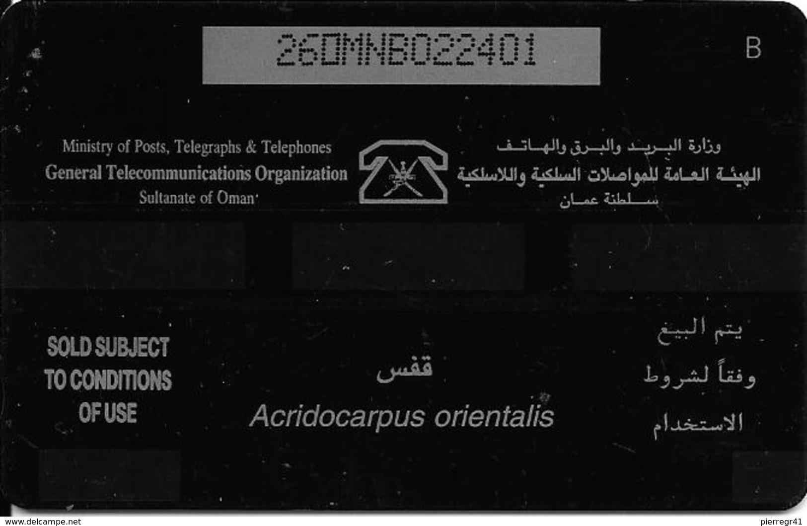 CARTE-MAGNETIQUE-OMAN-HERBES-TBE - Oman