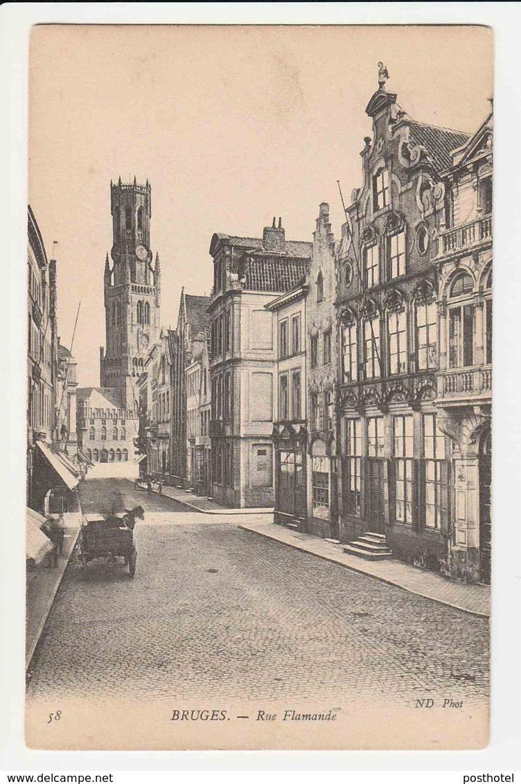 Bruges - Rue Flamande - Brugge