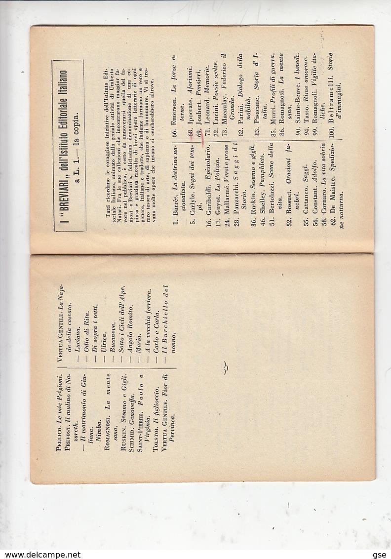 ITALIA 1930 - Libretto Editore BARION - Milano - Tematica