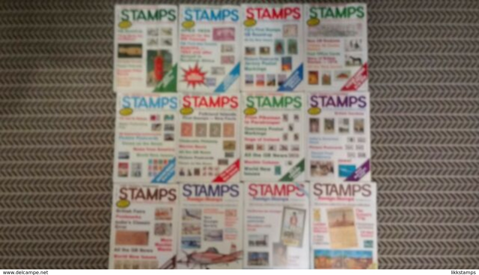 STAMPS / STAMPS AND FOREIGN STAMPS MAGAZINE JANUARY 1983 TO DECEMBER 1983 - Inglesi (dal 1941)