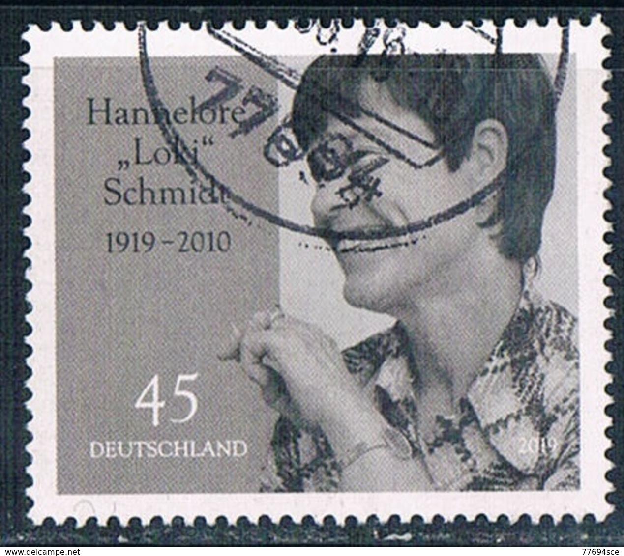 2019  100 Geburtstag Von Hannelore (Loki) Schmidt - [7] République Fédérale