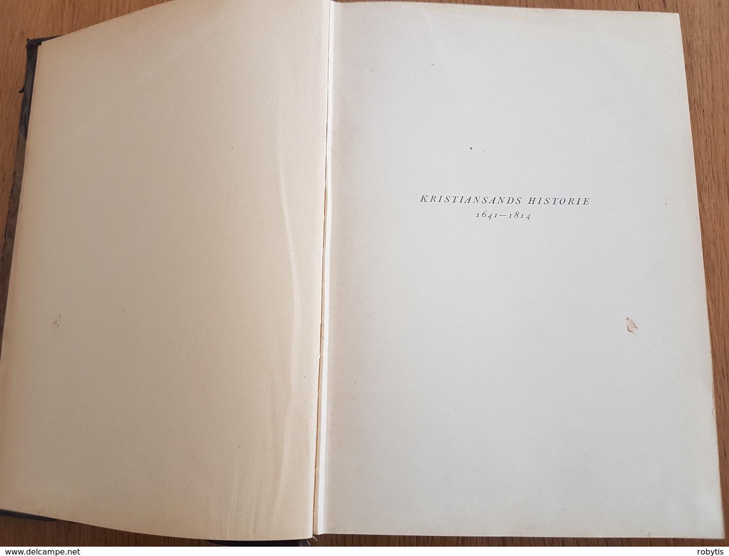 Norway Kristiansand History 1941 - Books, Magazines, Comics