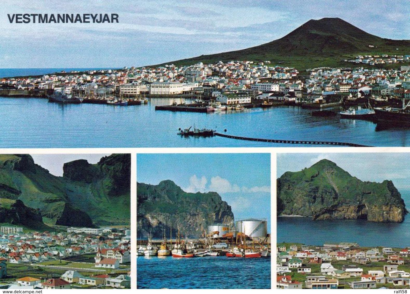 1 AK Island Iceland * Ansichten Von Vestmannaeyjar Diese Stadt Liegt Auf Heimaey - Die Größte Der Westmännerinseln * - Island