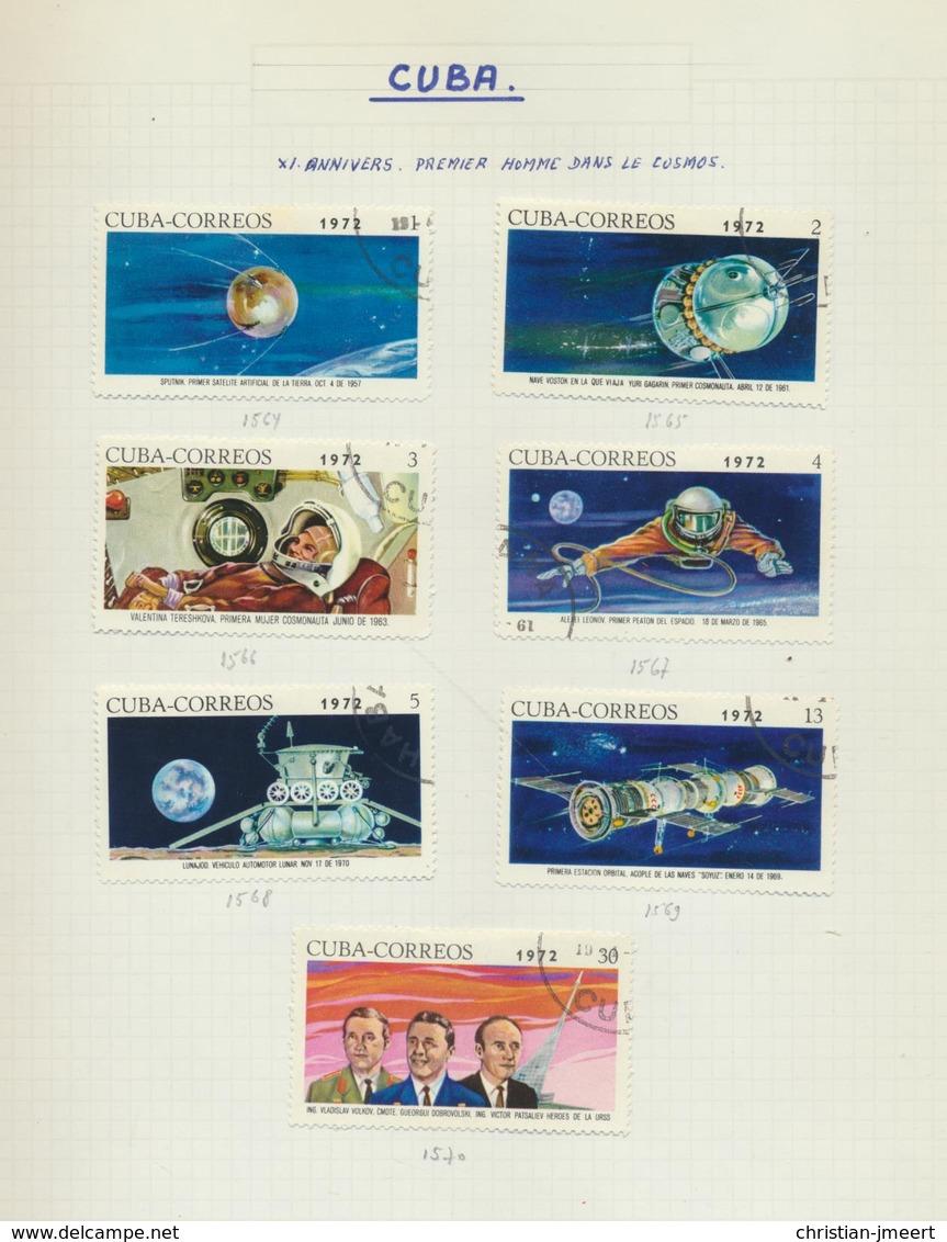 SPACE  Espace - Ruimtevaart  Collection Pays Divers  Oblitérés/MH X -voir Detail - Space