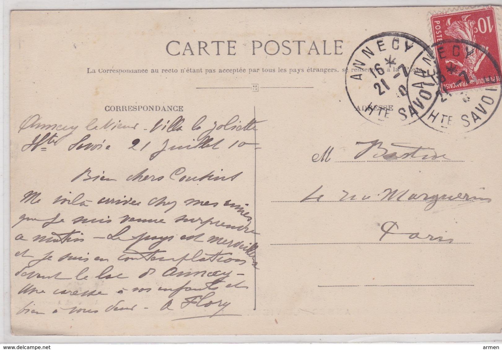 74-ANNECY-LE-VIEUX- LA JOLIETTE - Annecy-le-Vieux