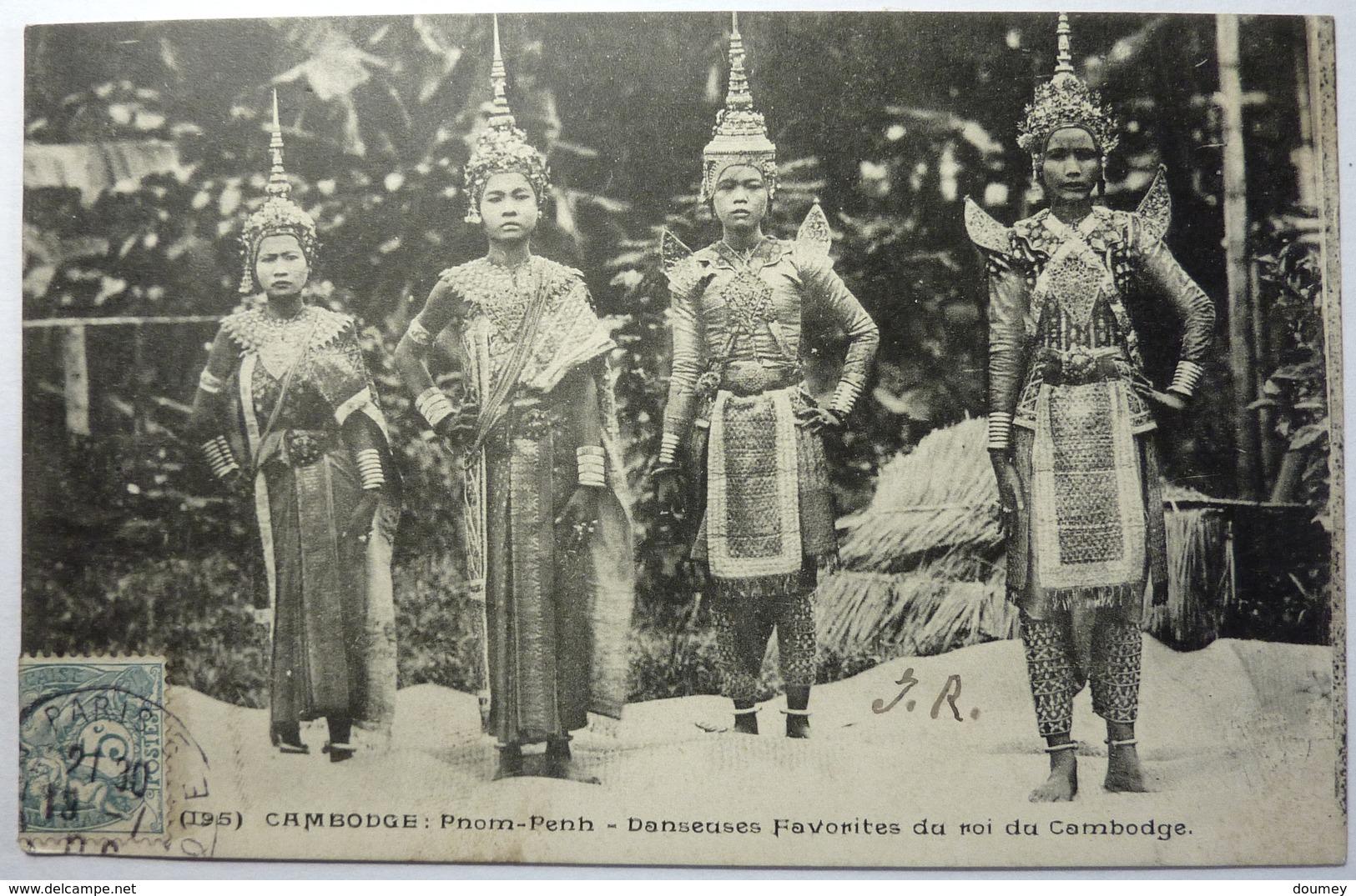 DANSEUSES FAVORITES DU ROI DU CAMBODGE - PNOM-PENH - Cambodia