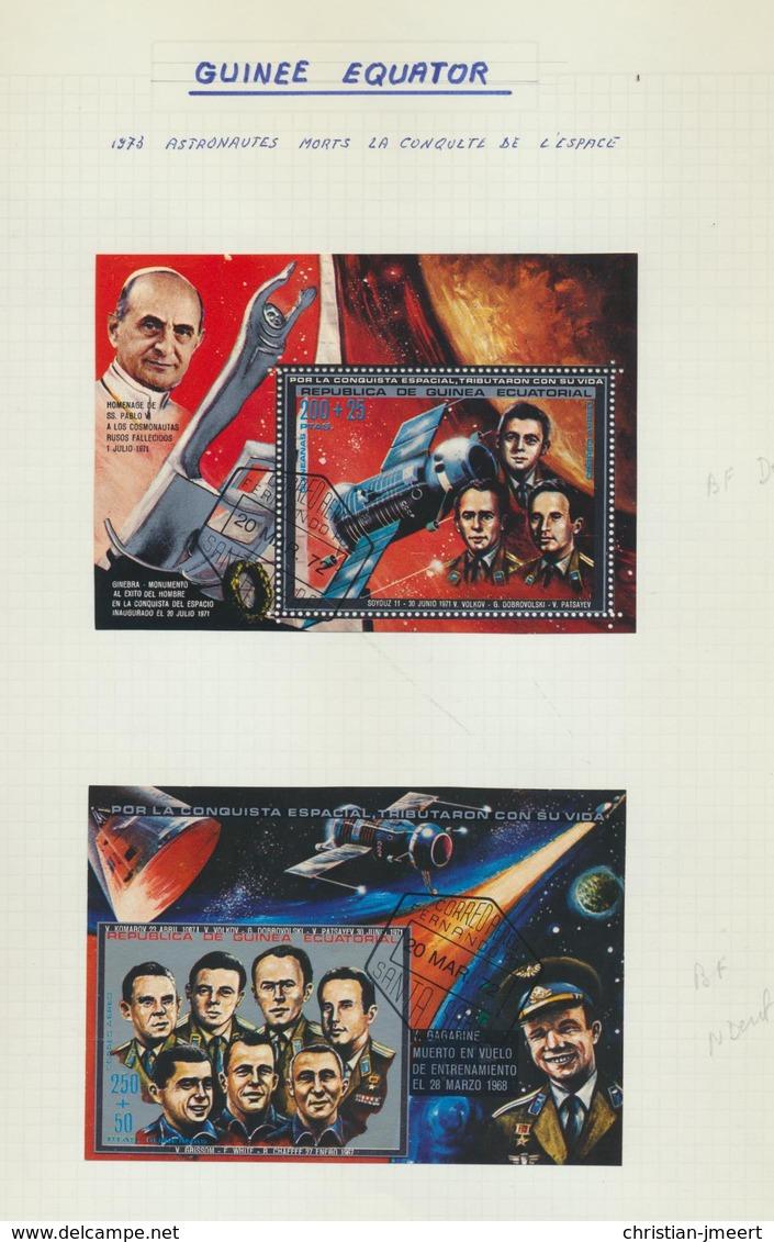 Espace - Ruimtevaart  Collection Pays Divers  Oblitérés/MH X -voir Detail - Collections