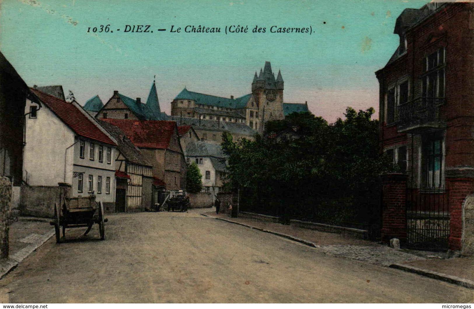 DIEZ - Le Château (côté Des Casernes) - Diez