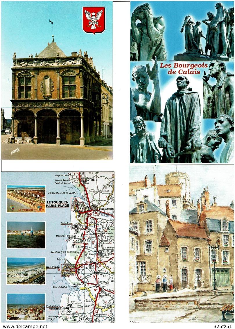 62 / PAS DE CALAIS /  Lot De 90 Cartes Postales Modernes Neuves - Cartes Postales