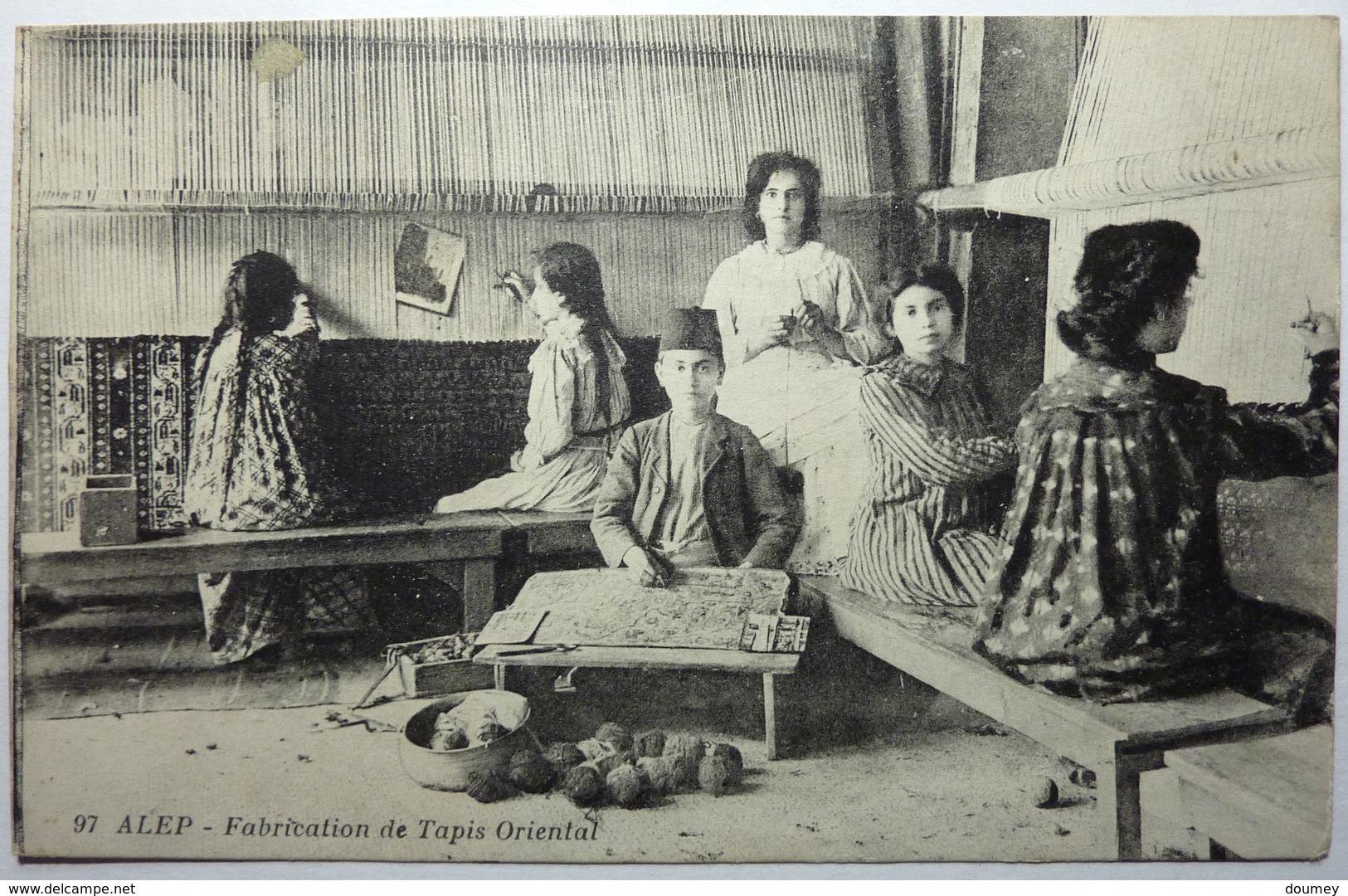 FABRICATION DE TAPIS ORIENTAL - ALEP - Syrië