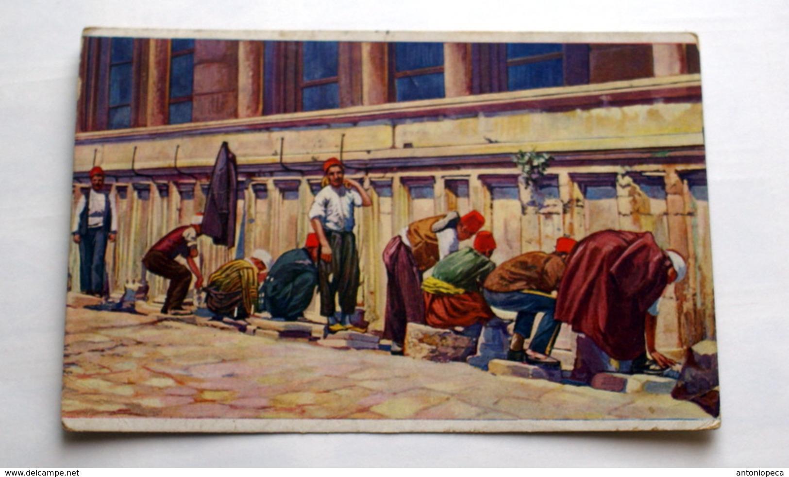TURCHIA, 1931 ISTANBUL PITTORICA VIAGGIATA - Turchia