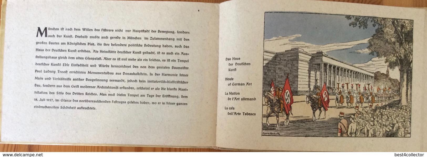 Bildchronik Von München. 1938 Print.22 Historical Color Print Inside. - 4. Neuzeit (1789-1914)