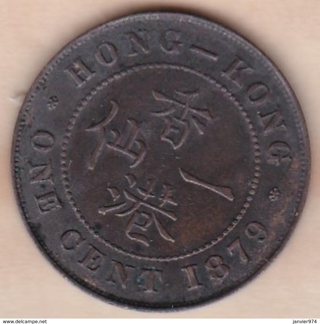 Hong Kong. 1 Cent 1879. Victoria. Bronze. KM# 4.3 - Hongkong