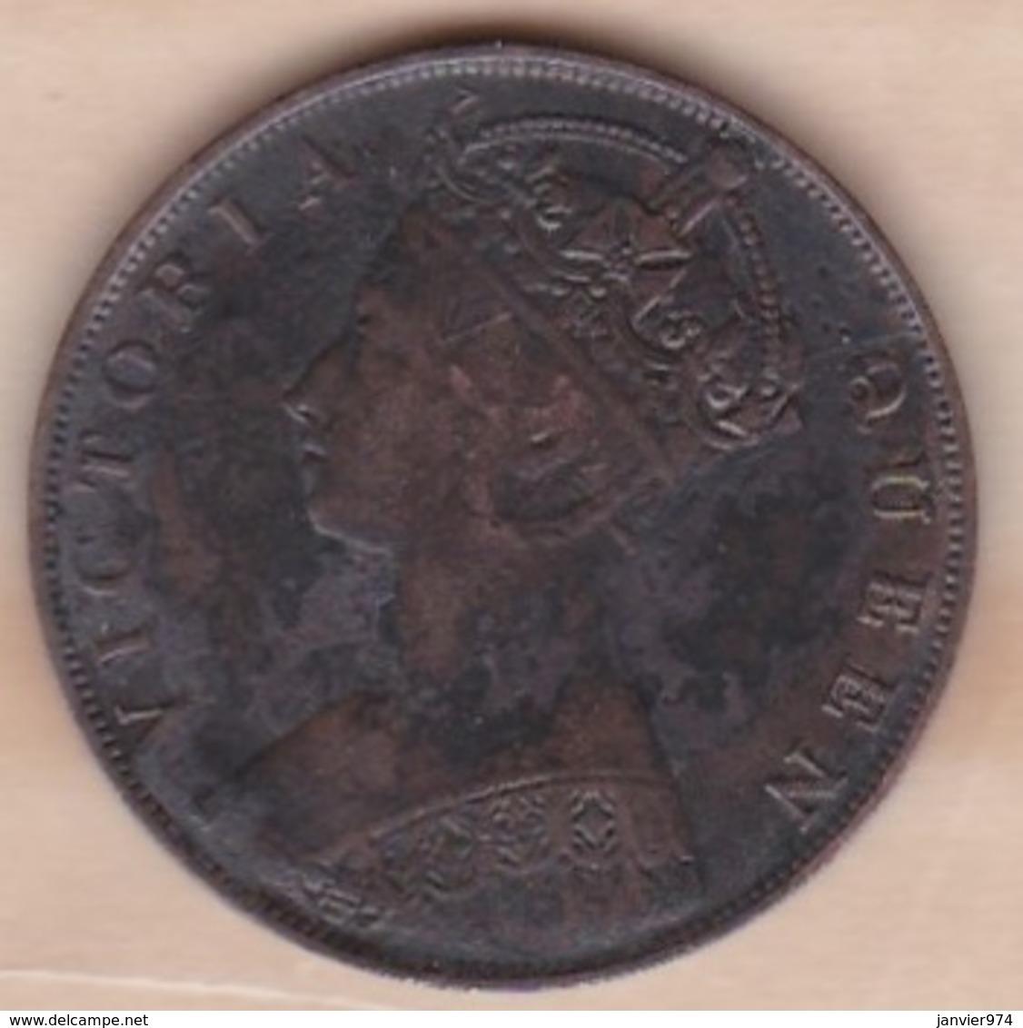 Hong Kong. 1 Cent 1879. Victoria. Bronze. KM# 4.3 - Hong Kong