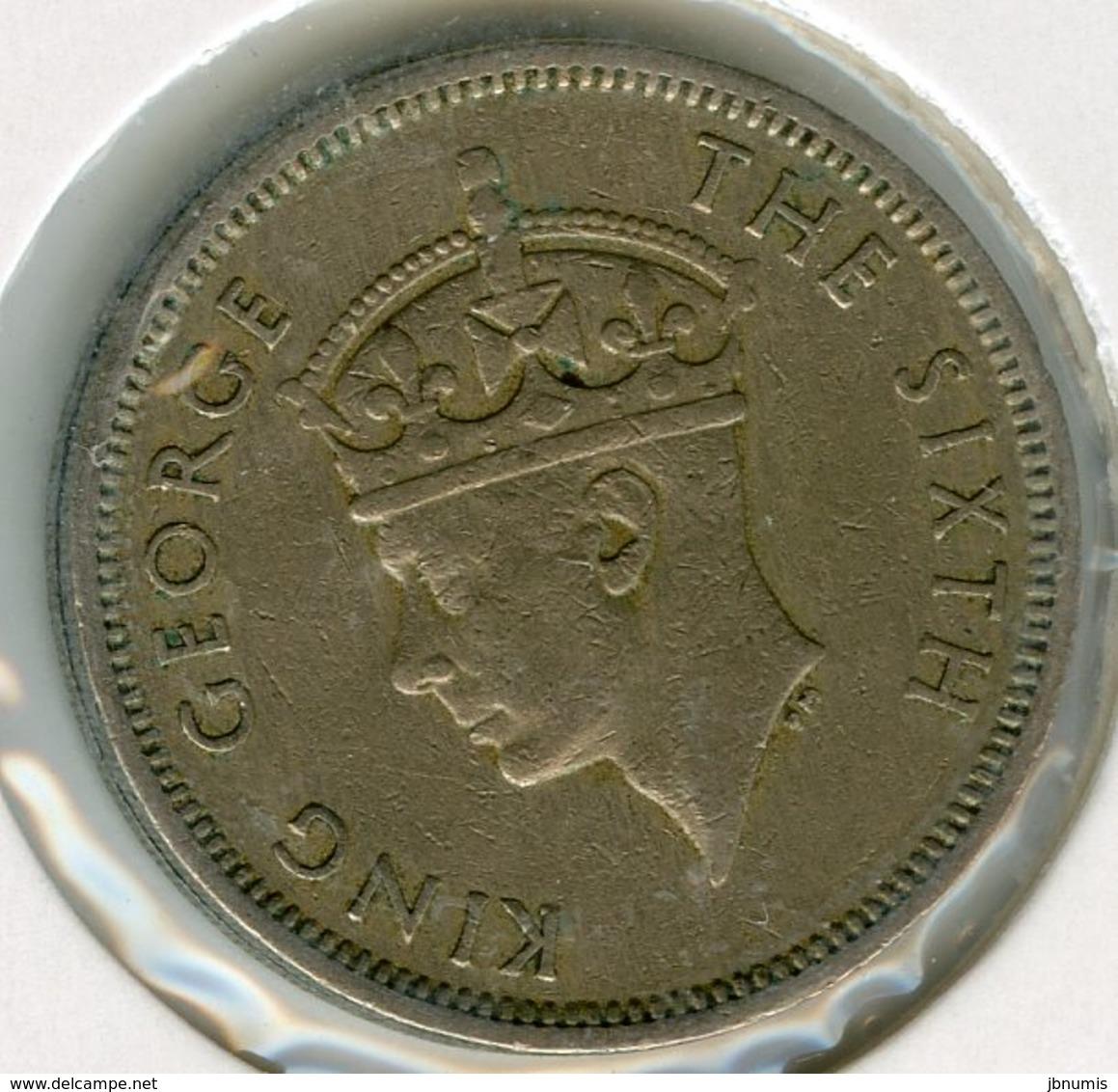 Hong Kong 50 Cents 1951 KM 27.1 - Hong Kong