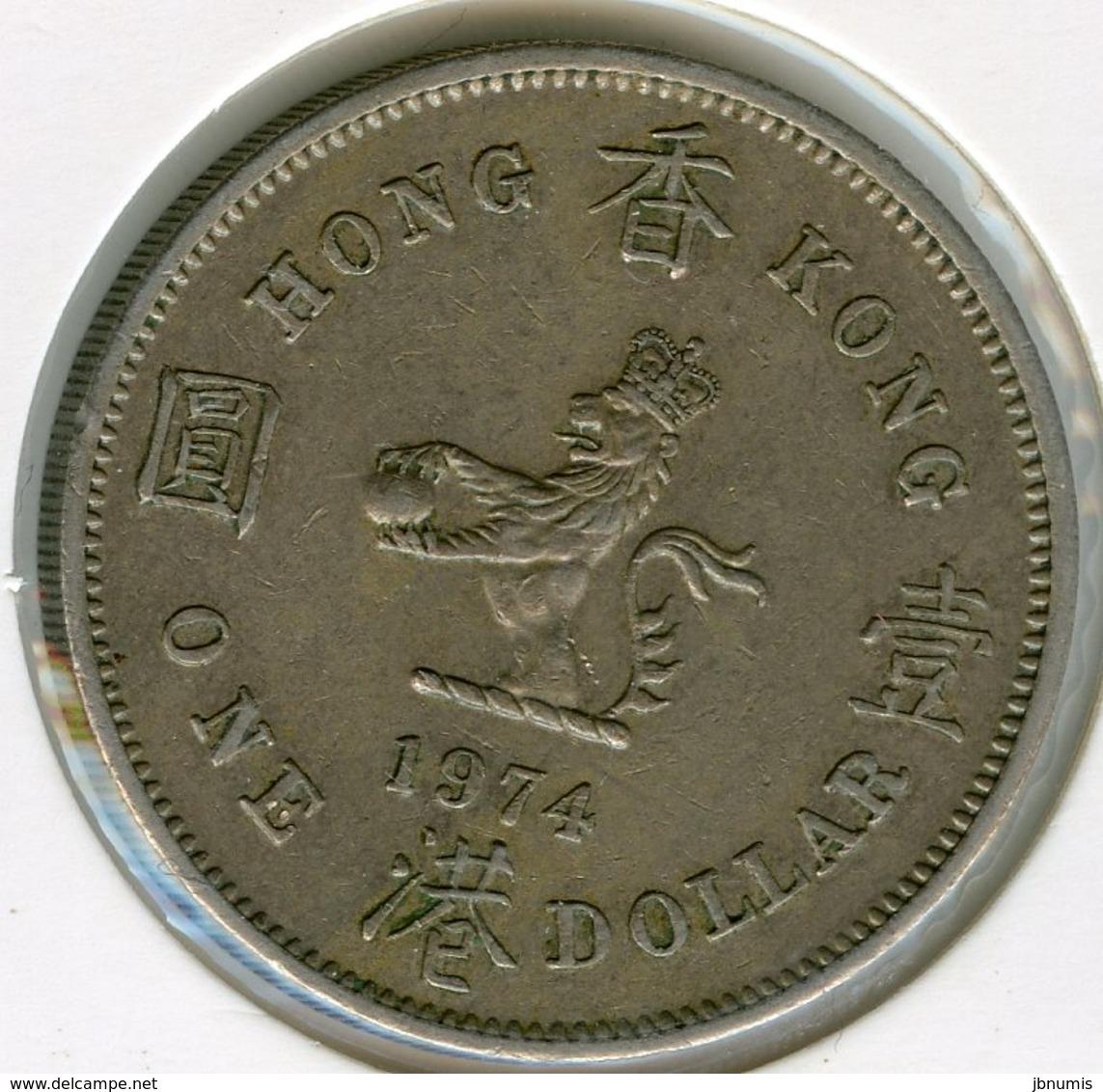 Hong Kong 1 Dollar 1974 KM 35 - Hong Kong