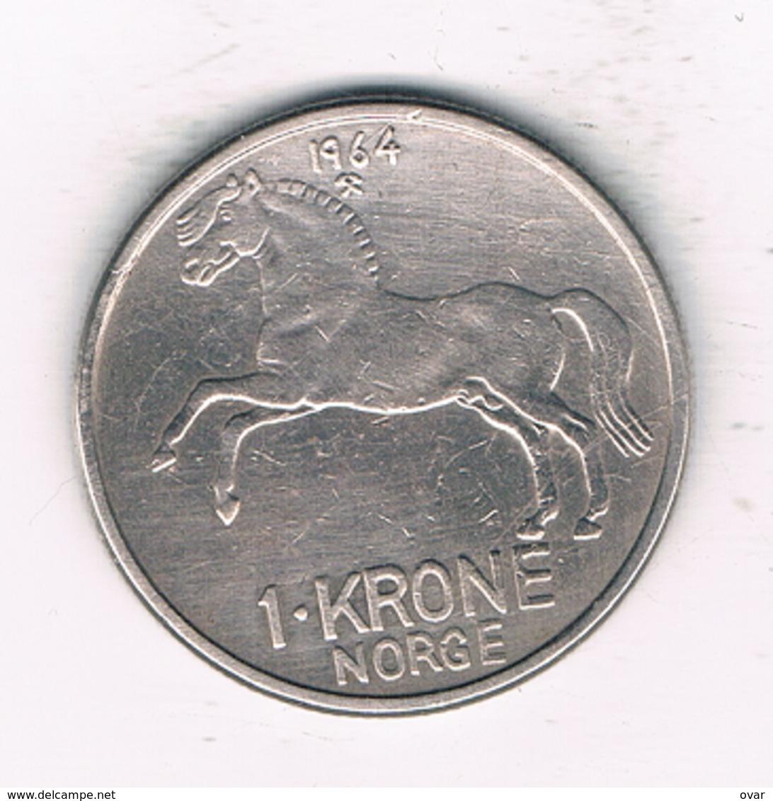 1 KRONE 1964  NOORWEGEN /2002/ - Norvège
