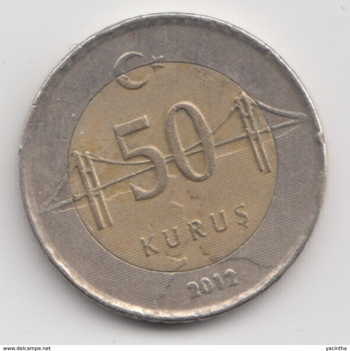 @Y@  Turkije    50     Kurus   2012    (4761) - Turquie