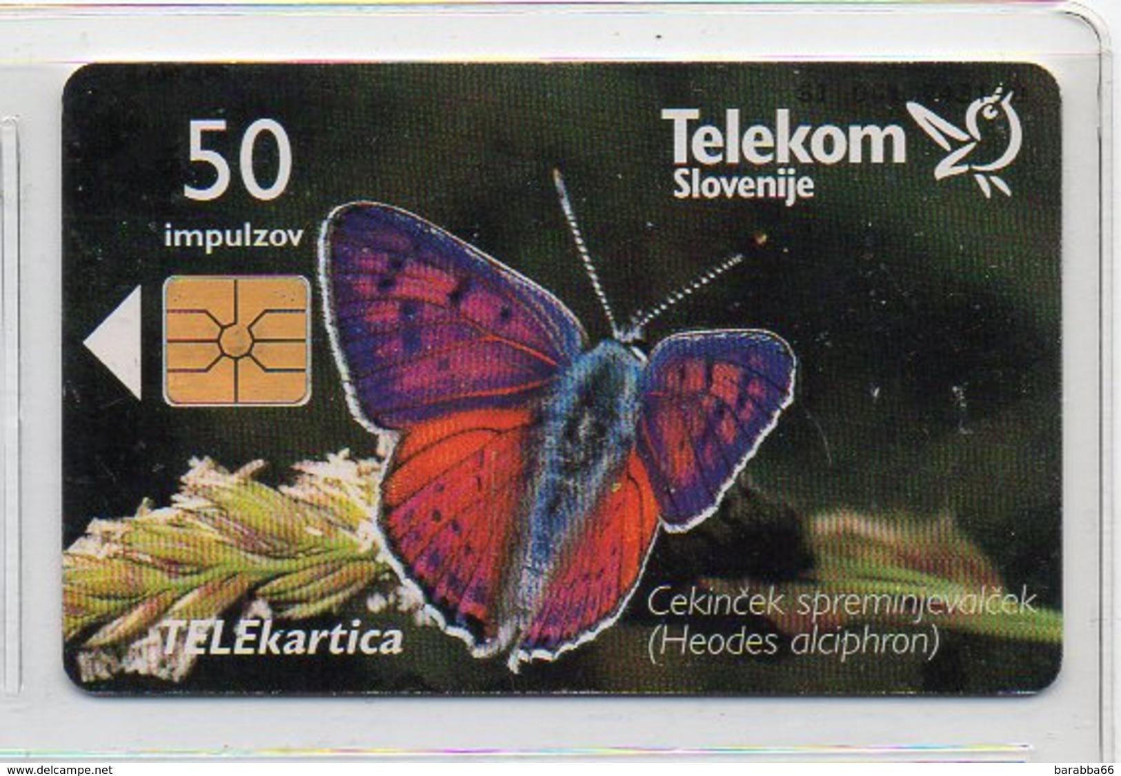 Telekom Slovenije 50 Imp. - CEKINČEK ... - Slowenien