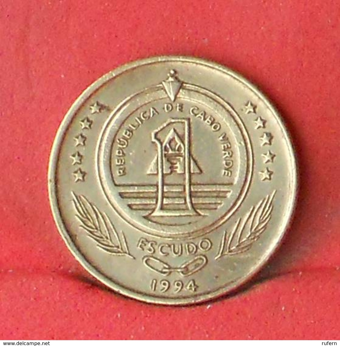 CAPE VERDE 1 ESCUDOS 1994 -    KM# 27 - (Nº28135) - Cap Vert