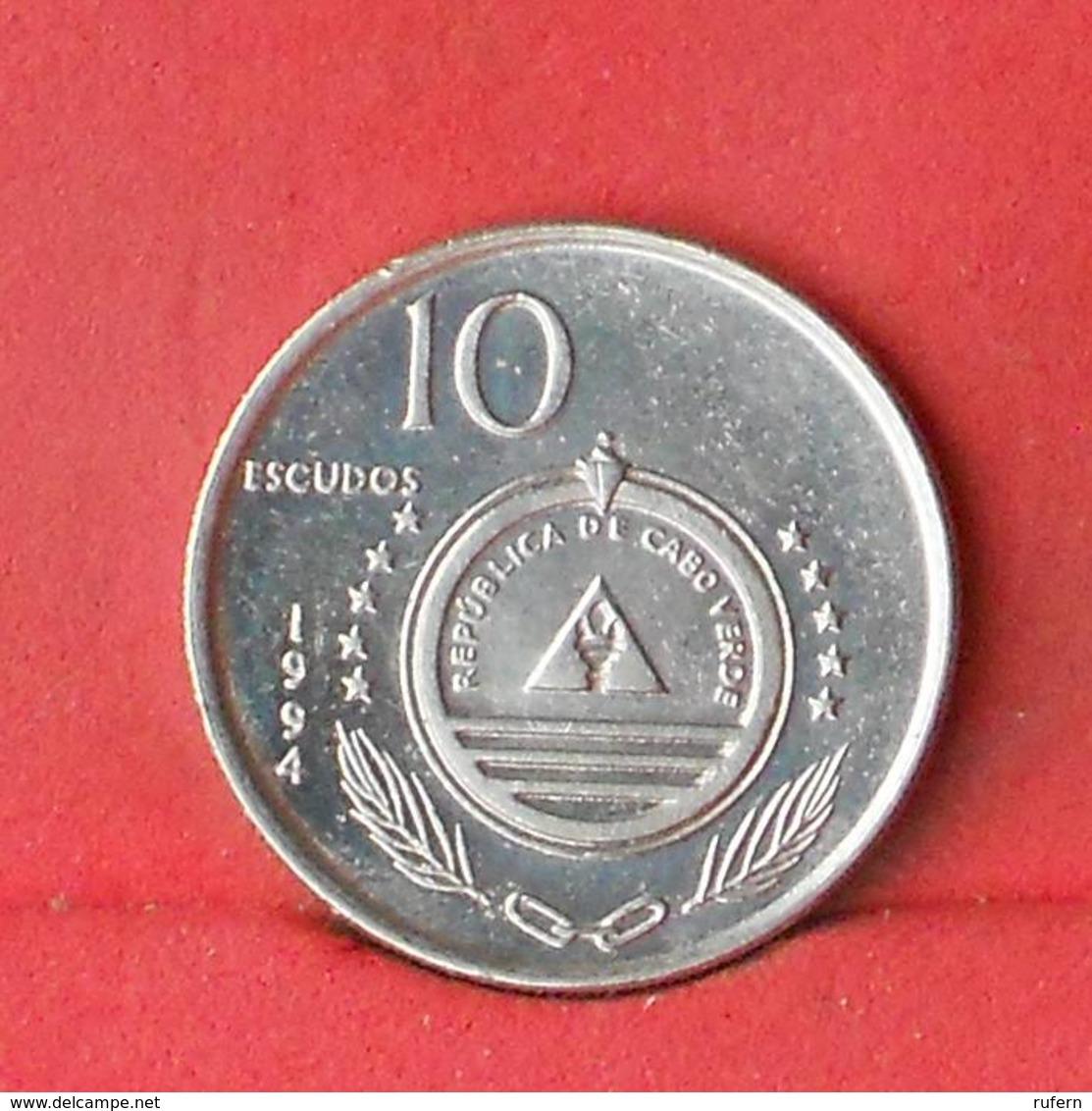 CAPE VERDE 10 ESCUDOS 1994 -    KM# 32 - (Nº28139) - Cap Vert