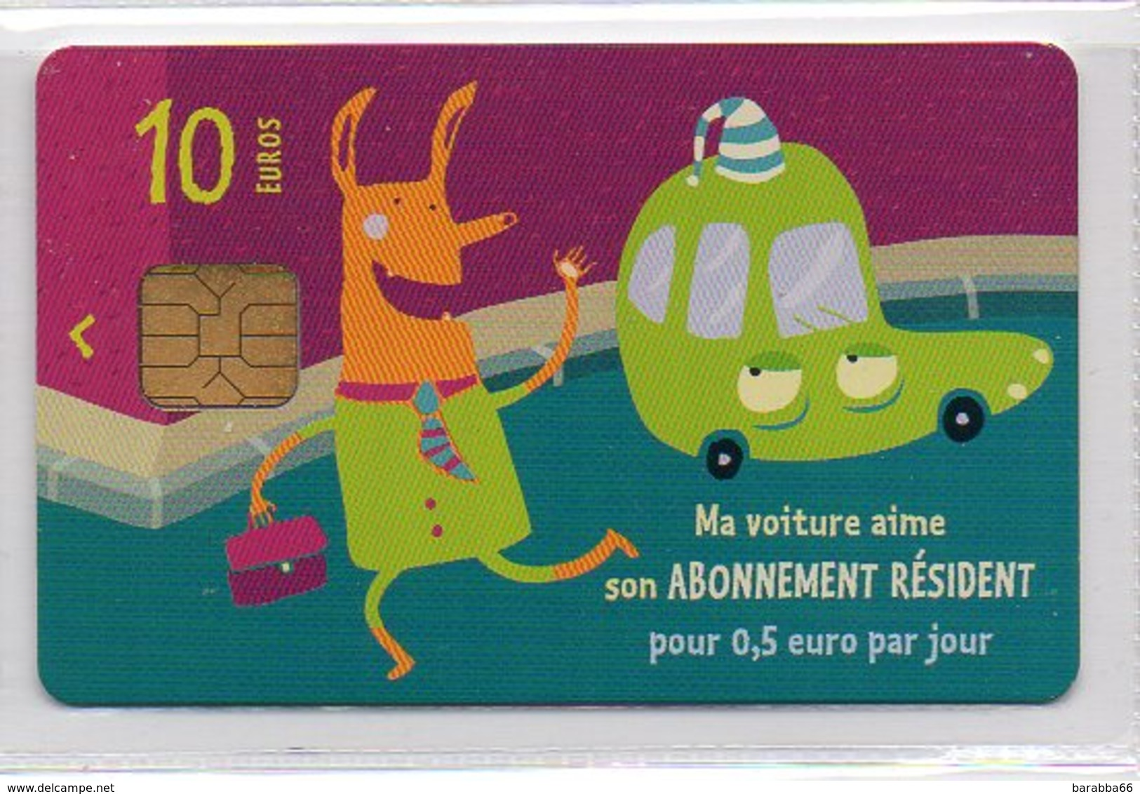 Parking Card Paris 10€ - PARKING PERMIT - Other