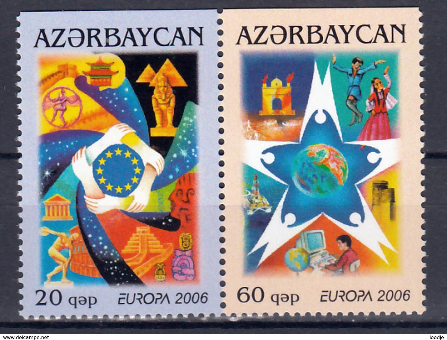 Aserbeidzjan  Europa Cept 2006 Type D  Paar  Postfris M.N.H. - Europa-CEPT