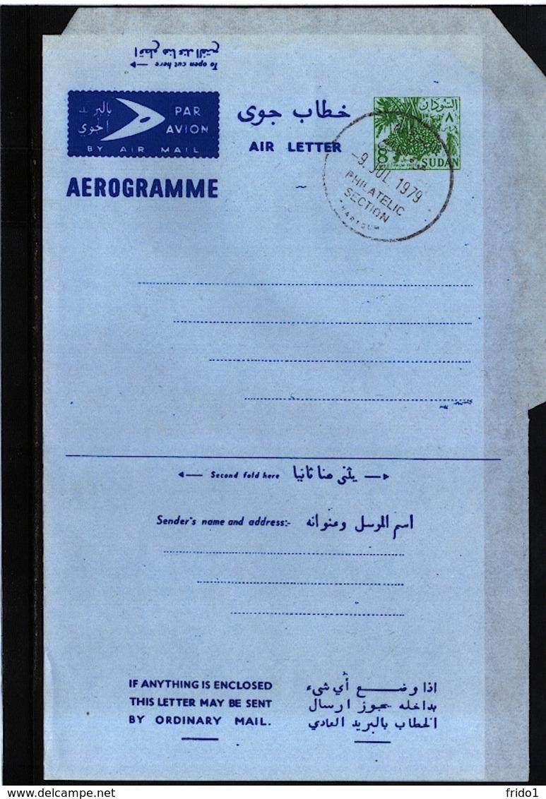 Sudan  1979 Aerogramme / Air Letter Fine Used - Sudan (1954-...)