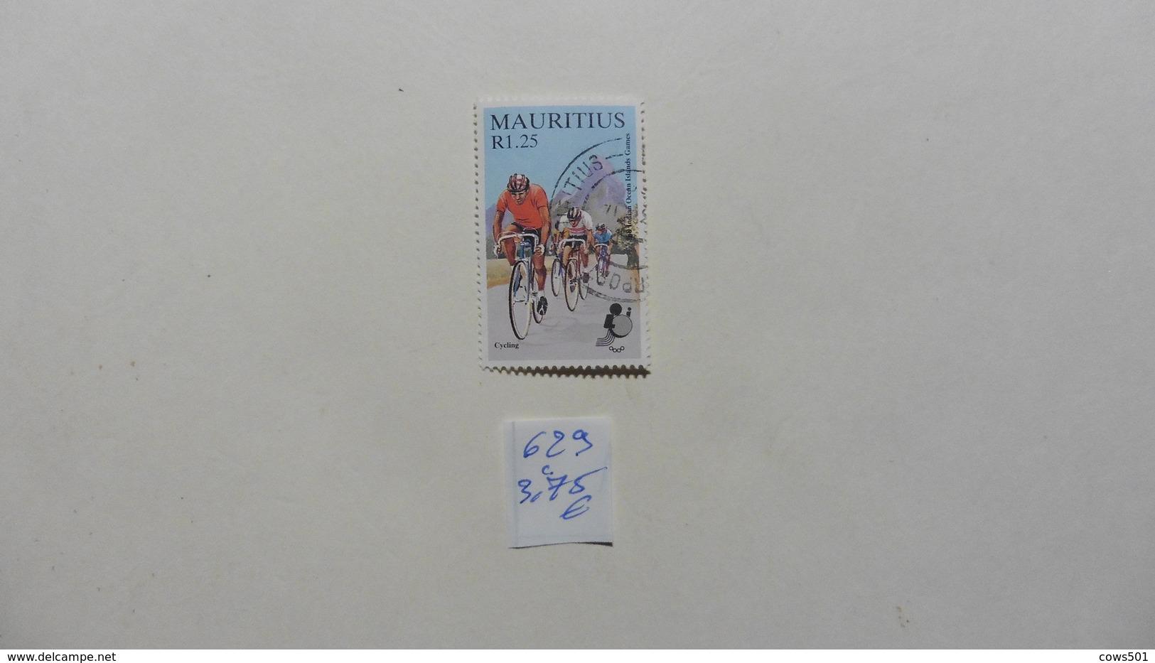 Afrique > Maurice  Timbre N°629 Oblitéré - Maurice (1968-...)