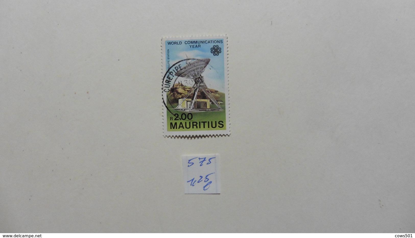 Afrique > Maurice  Timbre N°575  Oblitéré - Maurice (1968-...)
