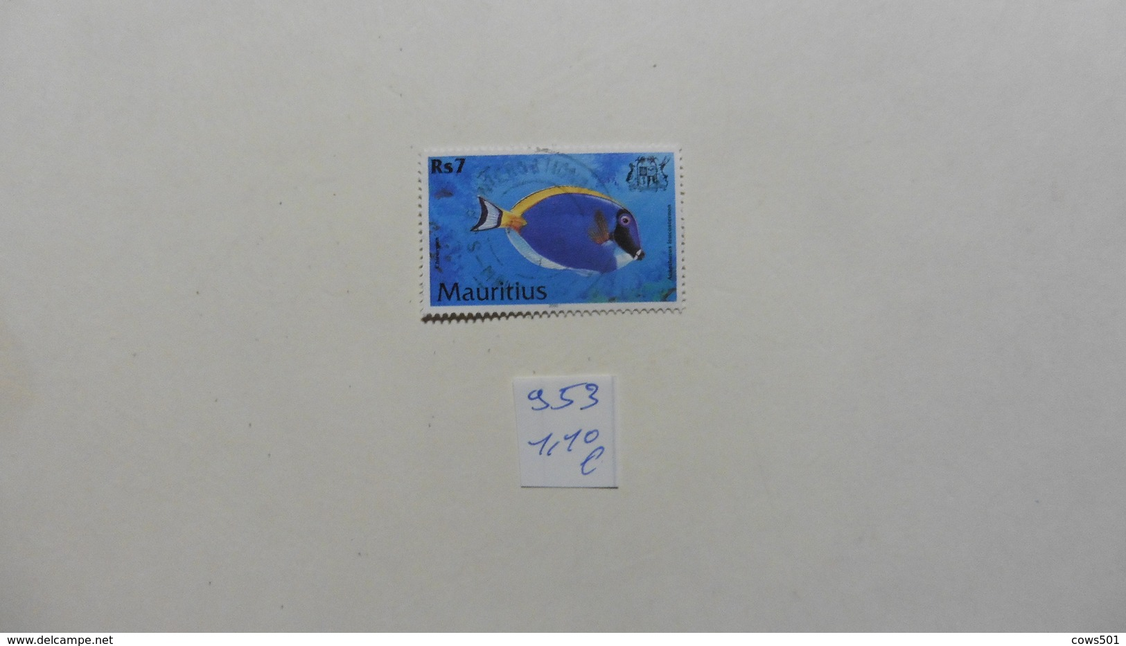 Afrique > Maurice  Timbre N°953  Oblitéré - Maurice (1968-...)