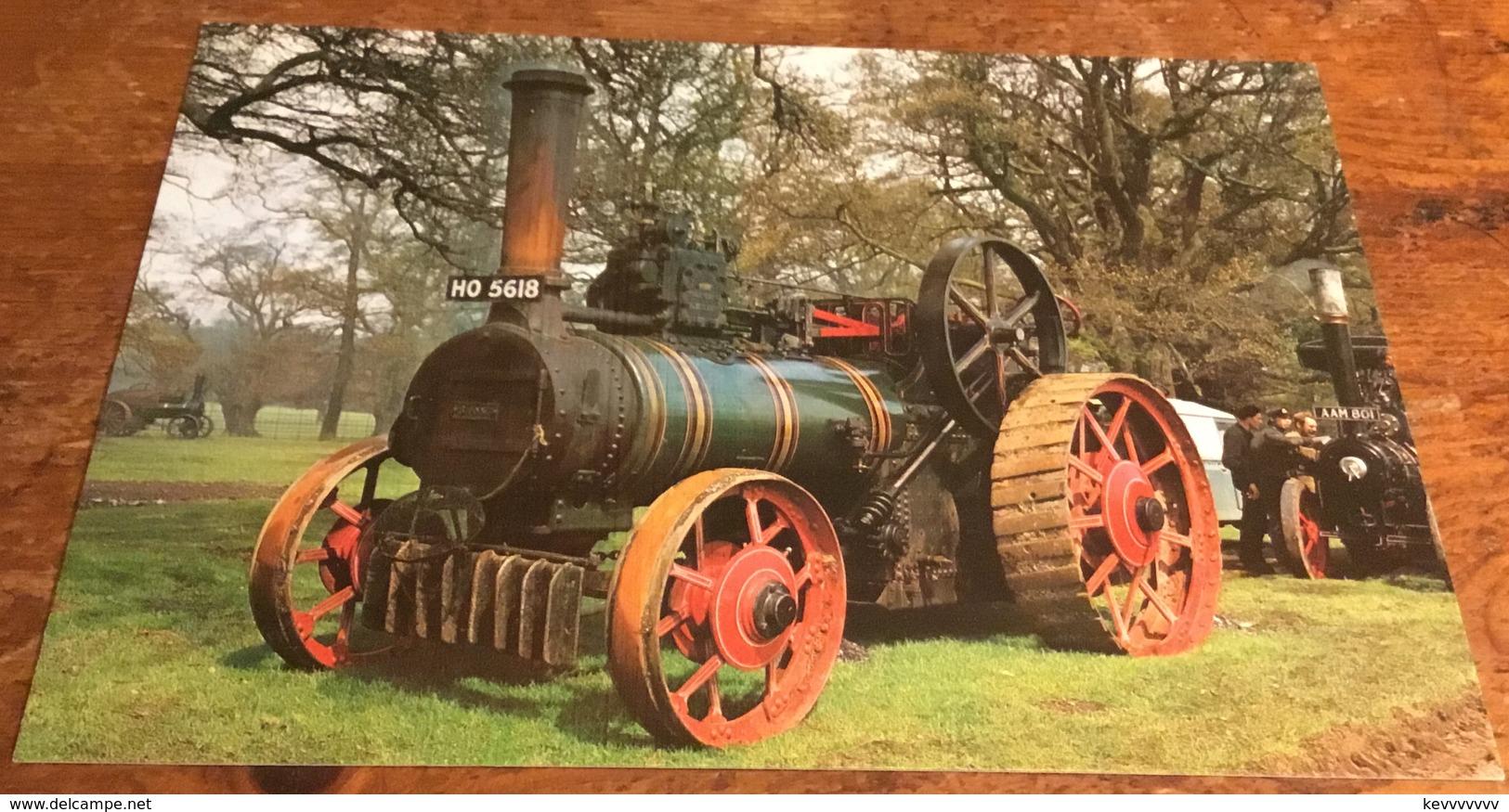 McLaren Traction Engine 8 NHP, Built 1882 - Postcards